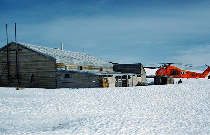 Captain Scott's 1912 Polar Expedition Hut on Cape Evans.