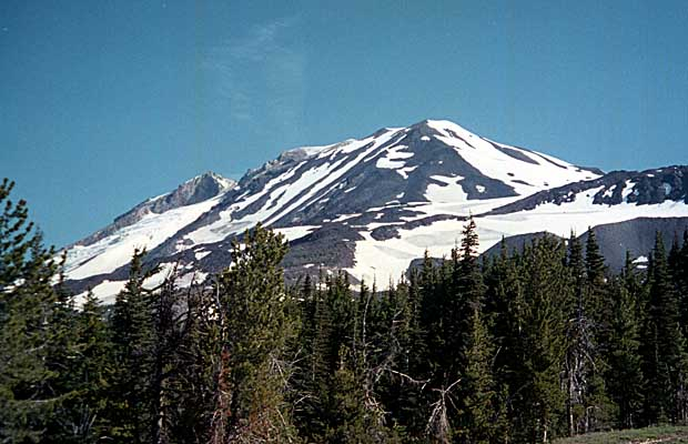 The southern face of Mount Adams as seen from Cold Springs